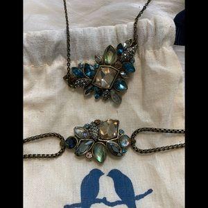 NEW Chloe + Isabel Necklace Bracelet Stone Set
